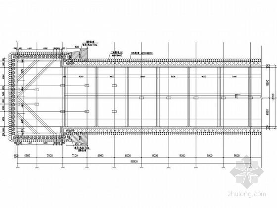 [上海]地铁站及风井基坑SMW工法围护结构招标设计图