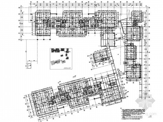 [深圳]创新工业园厂房建筑给排水图纸(中水系统)