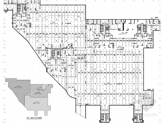 [福建]高层住宅楼给排水消防施工图(喷淋系统)