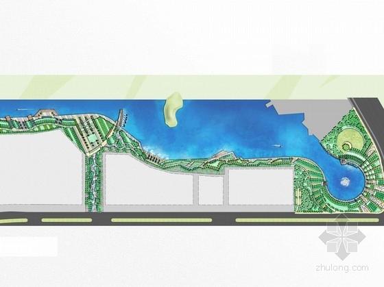 [南京]湖畔带状公园二期工程景观设计方案