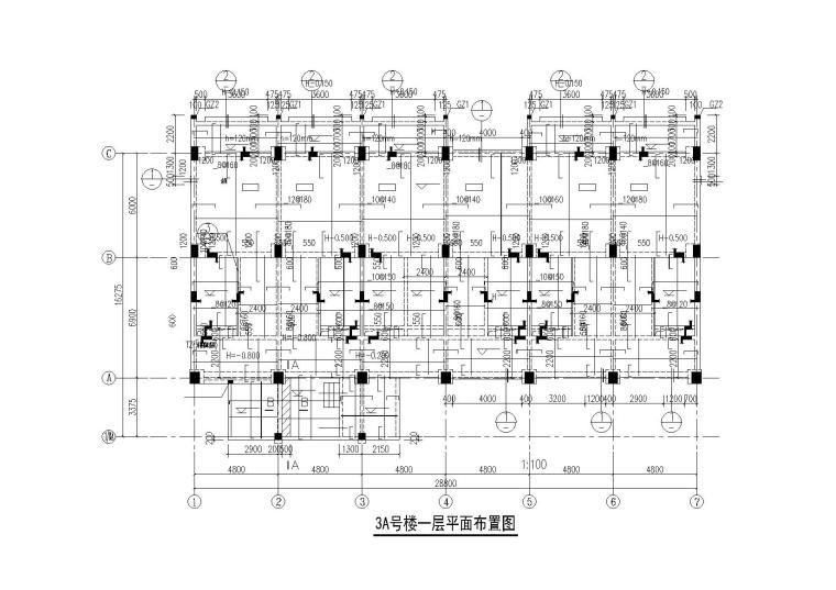 [四川]知名酒店三区(散客区)全套施工图