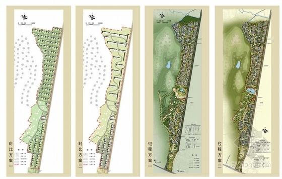 传统田园风格新农村规划分析图