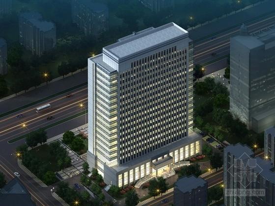 [南京]17层现代风格行政服务中心建筑设计方案文本
