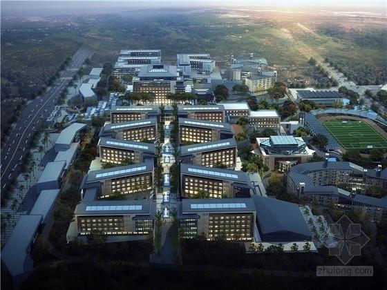 [重庆]新中式风格山地大学校园规划设计方案文本(山地建筑设计优秀案例)