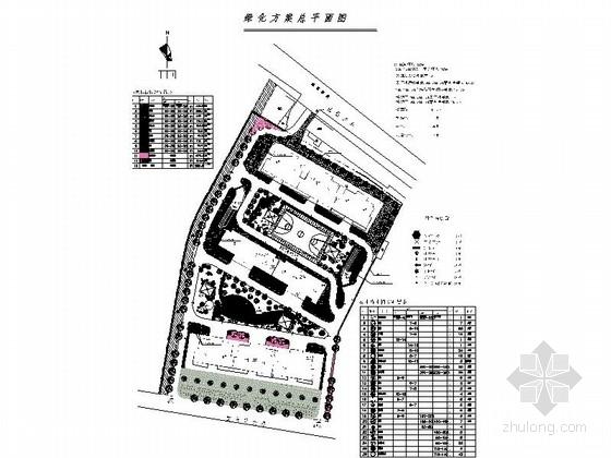 武警小区绿化景观设计施工图