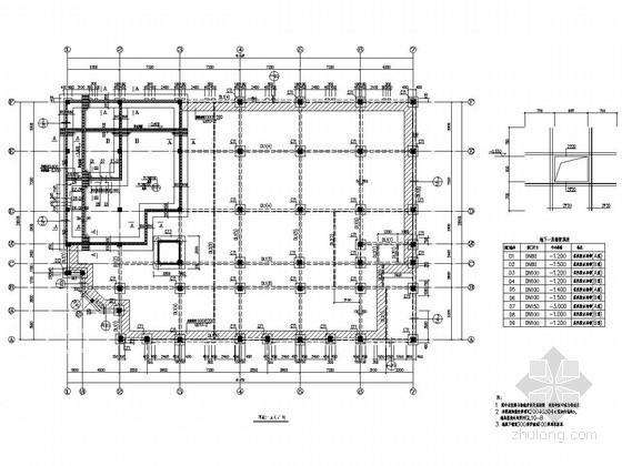 [广东]地上五层框架结构住宅楼结构施工图