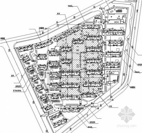 南京地产项目总平面图