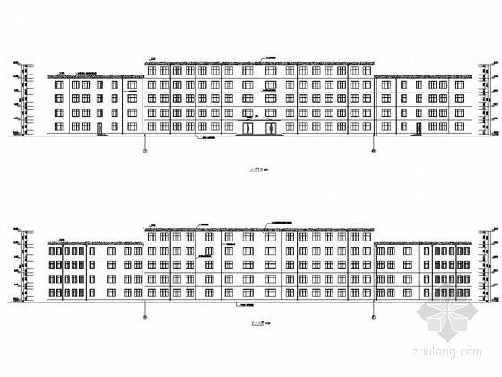 [学士]五层框架结构大学教学楼毕业设计(含建筑图 结构图 计算书)