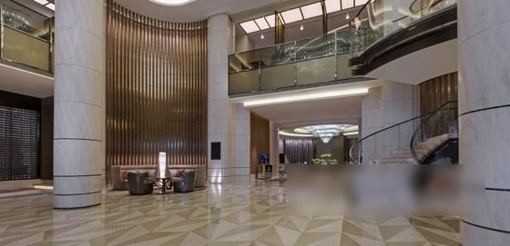 [厦门]中央商务区五星级豪华酒店装修图(含效果)大厅效果图