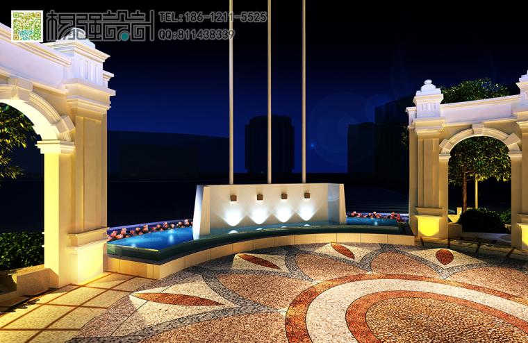 哈尔滨欧式建筑外观改造设计—杨强设计-08建筑外观-(夜景).jpg