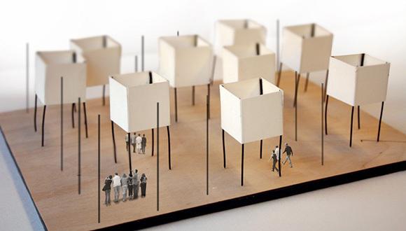 看看国外学生/建筑师的概念模型_1