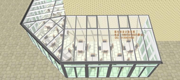 餐厅咖啡厅阳光房设计方案_8