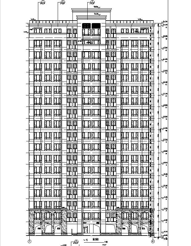 [上海]17栋高层住宅建筑施工图(含机电及结构图纸)
