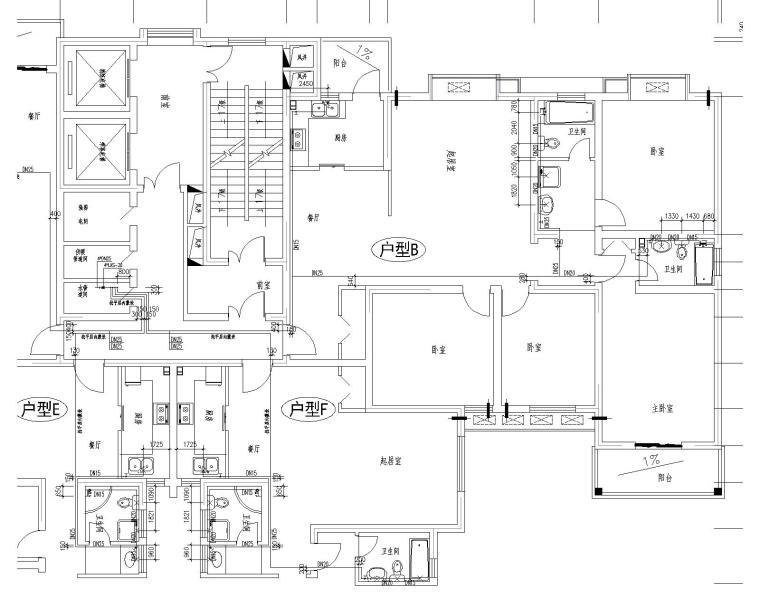 28层商住楼给排水消防全套施工图