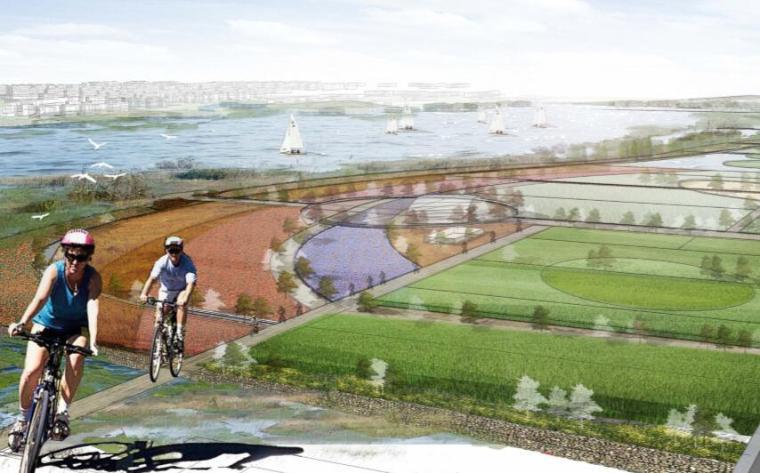 钱资湖景观概念规划设计方案文本-10都市农田区