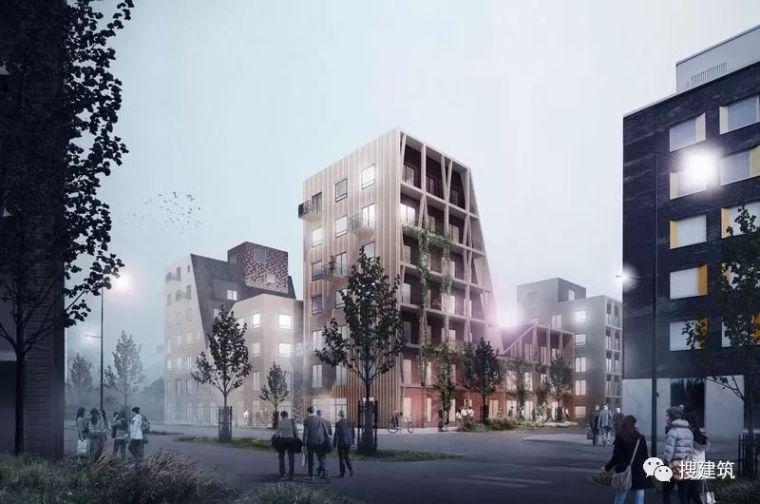 木结构的多功能住宅街区设计方案