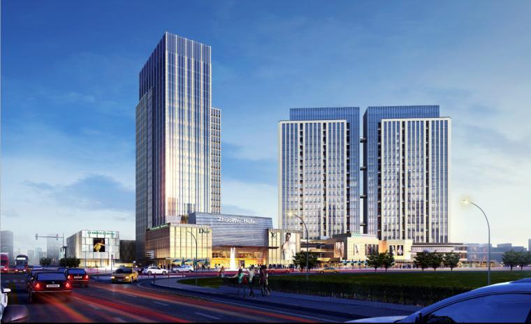 [广东]大朗高层商业综合体建筑设计方案文本_2