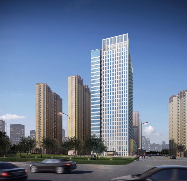 [武汉]保利高层住宅及超高层办公楼建筑方案文本(两套方案)_11