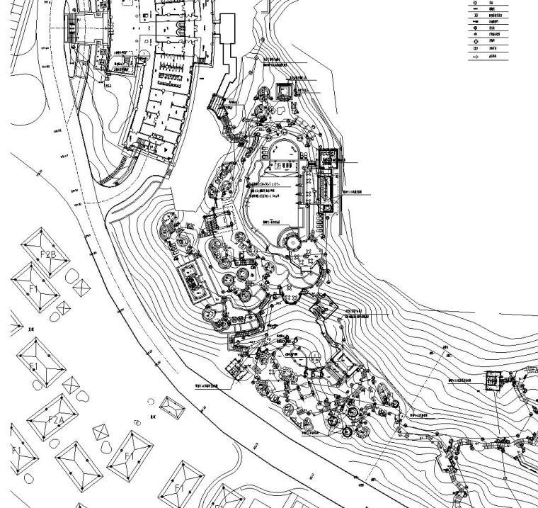 [云南]温泉度假区景观水电施工图设计(电气设计)