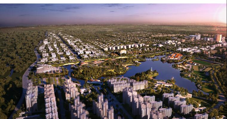 [上海]闵行马桥镇城市规划设计方案文本