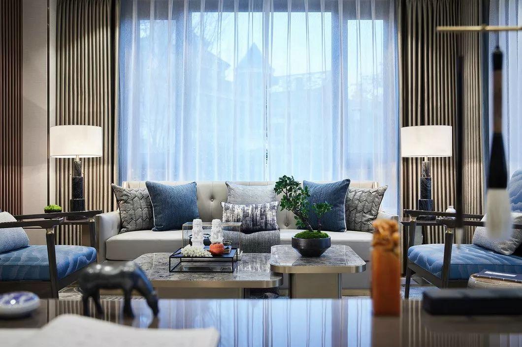 273㎡新中式别墅,竟然可以这么美!_3