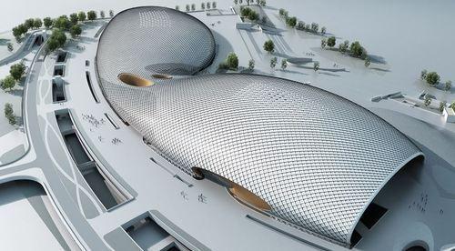 北京院BIM打造杭州奥体中心游泳馆