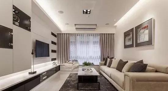 开放式家装设计案例,简约素雅_3