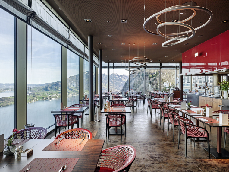 瑞士布尔根施托克酒店-Restaurant-Roger_Frei