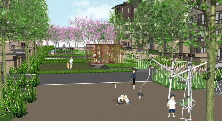 [万科]悦湾居住区景观方案设计文本