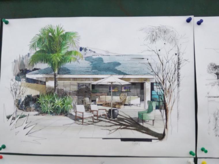 延安市西北川公园设计,红飘带广场_6