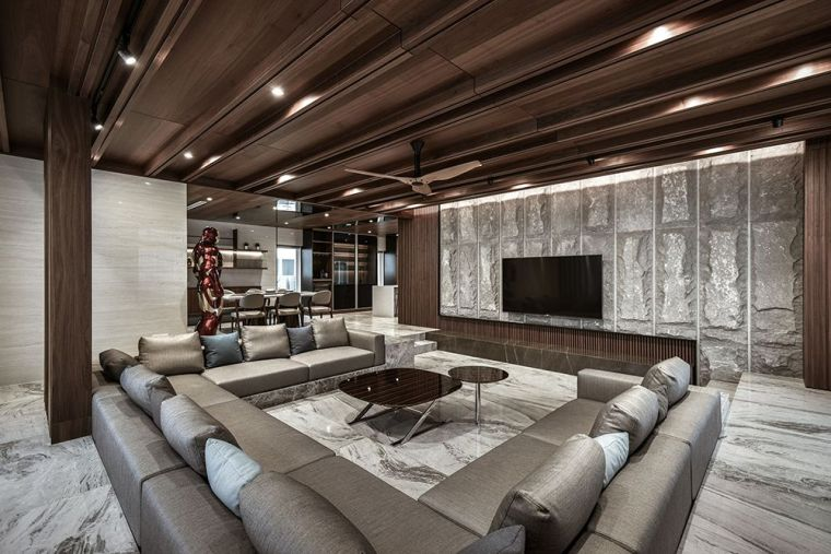 把豪华酒店搬回家,一探马来西亚热带私宅设计