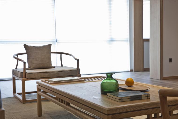 简单自然的中式风格住宅室内实景图 (12)