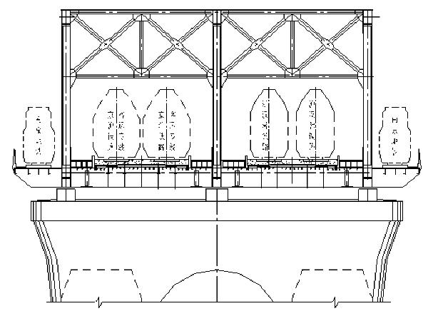 钢桁架拱桥施工组织设计(图文并茂181页)
