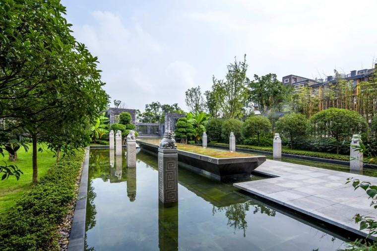 海棠香国历史文化风情城景观