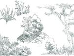 景观手绘线稿可打印