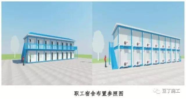 建筑施工现场临建、临设做法大全,学会建标准化工地再也不难_11