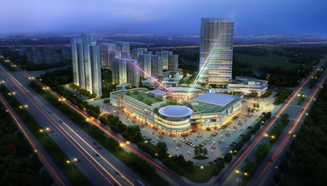 张江南二编制单元B1-7地块彩虹城项目