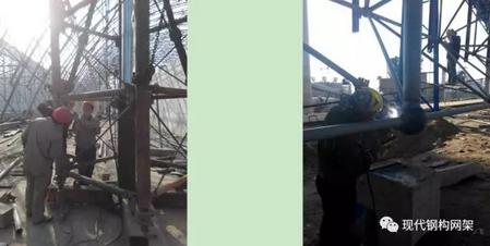 [行业资讯]大跨度煤棚焊接球网架液压顶升施工技术_17
