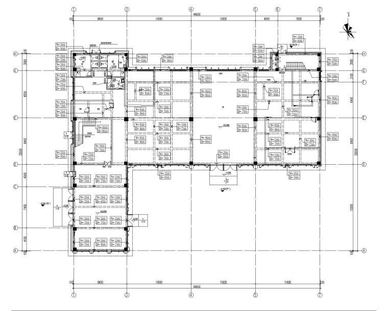 [郑州]豫发白鹭源售楼部设计施工图