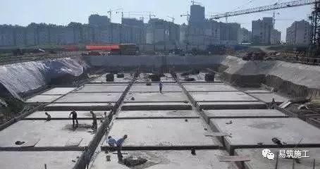 筏板基础施工质量问题及预防措施!