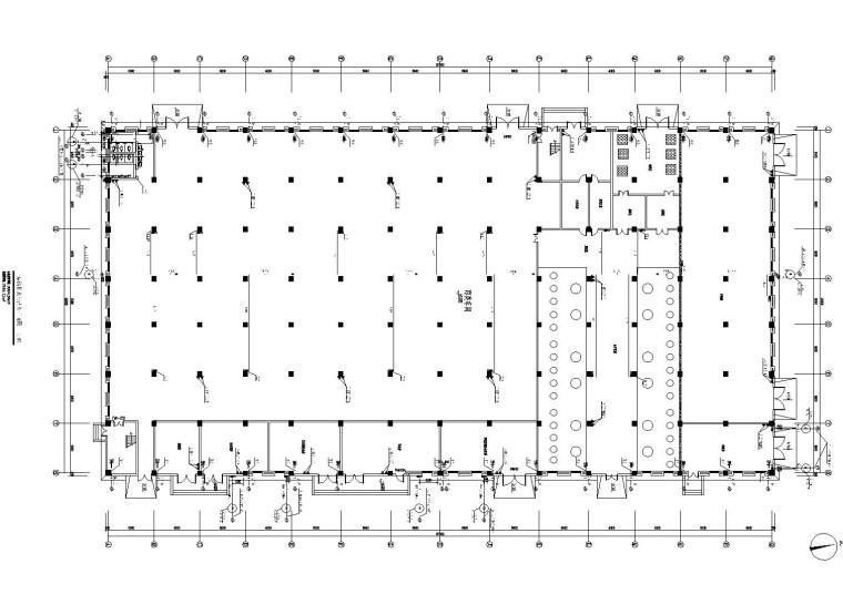 冷冻液生产厂房丙类车间给排水全套施工图