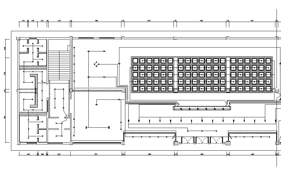 某佛教文化交流空间平面系统图_1