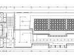 某佛教文化交流空间平面系统图