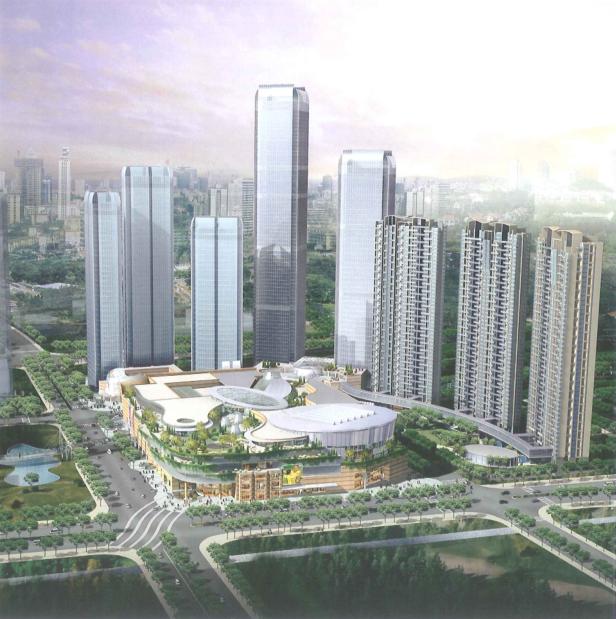 [杭州]超高层万象城城市综合体建筑设计方案文本(酒店、住宅、商业)