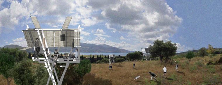 希腊Tragata新型瞭望台-27