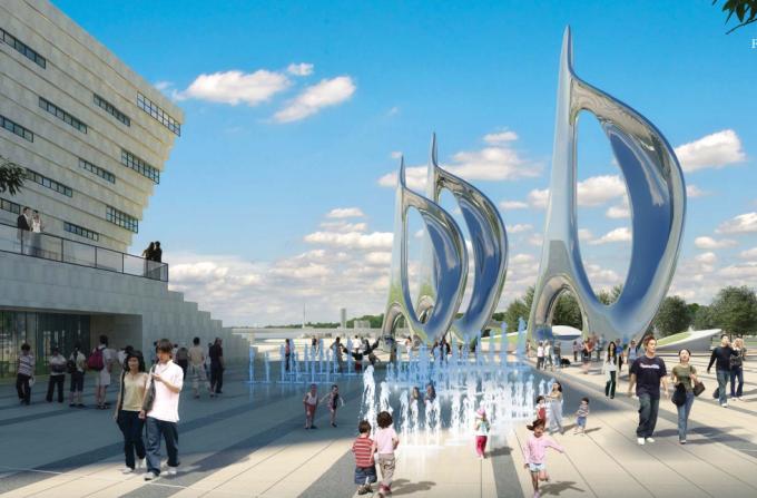 [山东]海滨生态城市地标黄金海岸景观规划设计方案_9