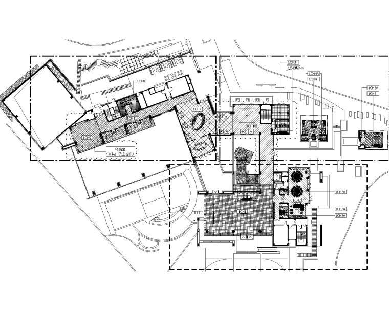 香港Moty'sDesign-成都悅城会所(新鸿基地产)精装修CAD图纸