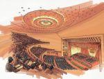 """人民大会堂的""""圆形大厅""""为什么不是圆形的?"""