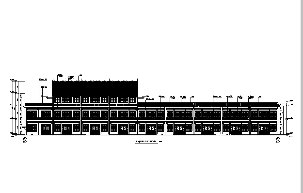 [辽宁]18栋商贸楼建筑施工图(含机电——结构图纸)_2