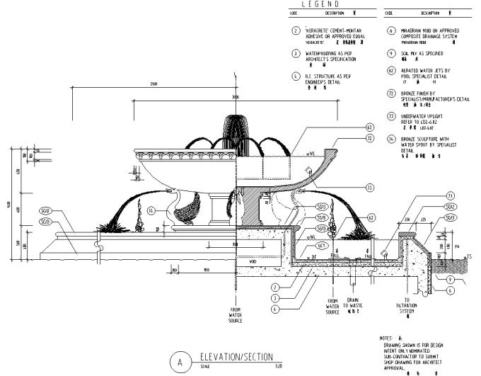 园林景观小品雕塑标志CAD施工图61张_8